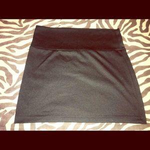 Rue21 Girl Short Terrific Black Skirt Size Medium.